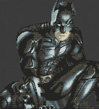 "Superhero Batman 3 Counted Cross Stitch Kit 11"" x 12"" Designs In Thread, TV/Film"