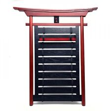 New Wood Frame KARATE Belt Display Rack BUDO Martial Arts Belt Holder-515C
