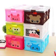 Cute Animal design Mini storage Box ( Color May Vary )