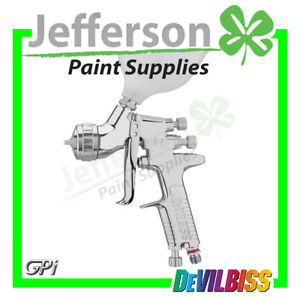 Devilbiss GPI General Purpose Spray Gun with GP1 Aircap and 600ml Pot Brand New!