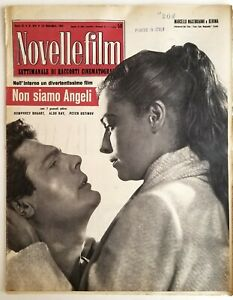 Novelle Film Italian Movie Magazine 1955 Bogart Aldo Ray Ustinov Lady Godiva