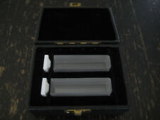 2 Cuve Hellma 100-QS 10,00 mm K82 Prolabo Spectroscopie Mesure Laboratory Quartz
