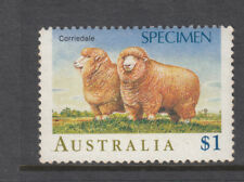 $1.00 Sheep overprinted Specimen MNH