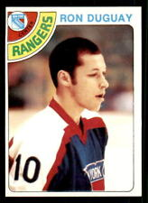 1978-79 Topps #177 Ron Duguay Rangers Rookie NM-MT (ref 28278)