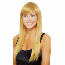 Claire's Womens Halloween Long Blond Wig Costumes One Size New