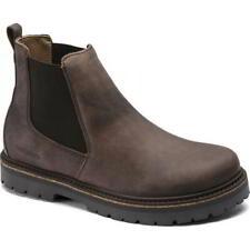Birkenstock Stalon Mens Womens Brown Ltr Slip On Chelsea Ankle Boots Size 7-12