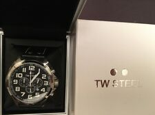 TW STEEL: TW 413. CHRONOGRAPH. TACHYMETER. 40 Percent Off!!! RRP: £275.