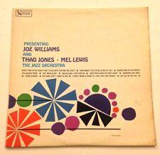PRESENTING JOE WILLIAMS & THAD JONES MEL LEWIS Jazz Orchestra UK Pressing LP