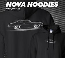 Hoodie 68-72 Nova Chevy II Chevrolet 1968 1969 1970 1971 1972 SS 68 69 70 71 72