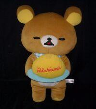 "18"" BIG 2014 SAN-X RILAKKUMA BROWN TEDDY BEAR STUFFED ANIMAL PLUSH TOY DOLL"