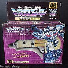 Original Vintage Takara Transformers D- 48 White Astrotrain MIB Unused