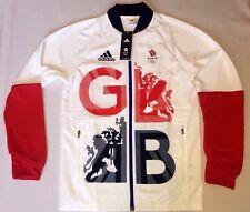 RIO 2016 Olympics TEAM GB Presentation Jacket Adidas Lightweight BNWT S 36/38