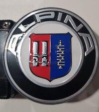BMW GENUINE E46 E60 E39 E90 E92 F25 ALPINA CENTRE HUB CAP EMBLEM 91473613135