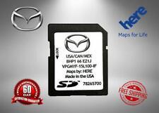 Mazda Navigation GPS SD Card : BHP1-66-EZ1J USA/CAN/MEX 2019/2019