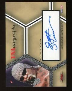 2008 Tristar TNA Scott Steiner Autograph BIG POPPA PUMP
