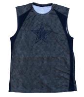 Dallas Cowboys Men's Dry Logo Muscle Tank Top Free Shipping