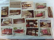 Lot of 16 Vintage 1974 Photos Stone Mountain Railroad Atlanta Georgia 778016