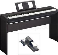 Yamaha P45 B Digital E-Piano Klavier SET mit L 85 Holzgestell + Sustain Pedal