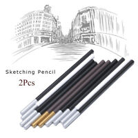 Smooth Charcoal Colored Painting Sketching Pencil White Highlighter Drawing Pen