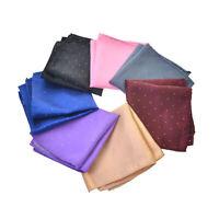 Klassische Herren Dots Silk Taschentuch Hanky Einstecktuch Hochzeitsanzug