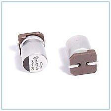 (10PCS) 100UF 35V NICHICON SMD ALUMINUM ELECTROLYTIC CAPACITORS.8X10MM 35v100uf