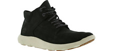 Timberland Flyroam Uk 9.5 Mid Chukka Black Nubuck Leather Men's Boot  Eu 44