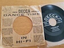 CATERINA VALENTE - Malaguena / Mambo From Chile 1954 DECCA JAZZ Werner Muller 7""