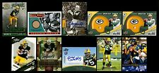 2001-10 BART STARR PAUL HORNUNG AUTOGRAPH AARON ROGERS CLAY MATHEWS ROOKIE CARD