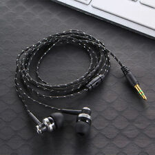 Bass Stereo In-Ear Earphone Earbud Headset Headphone with Mic for iPhone Samsung