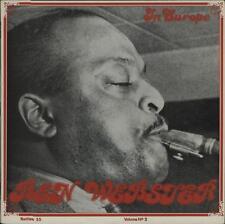 "Ben Webster In Europe vol 2 Denmark 1977 Rarities vinyl record 12"" 33rpm LP (nm)"