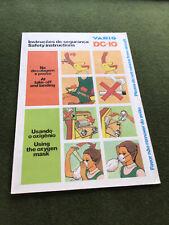 safety card varig dc 10
