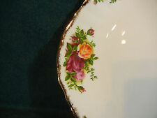 "Royal Albert Old Country Roses 10 3/8"" Smooth Handled Cookie / Cake Plate(s)"