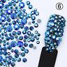 Mix Size 3D Nail Art Rhinestones Glitters Acrylic Tips Decoration Manicure DIY