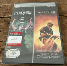 Brand New Platoon and Thin Red Line Double Feature Dvd