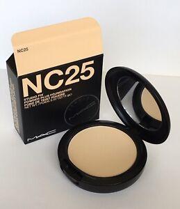 MAC Studio Fix Powder Plus Foundation - NC25 100% Authentic RRP $54