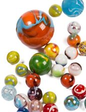 Glasmurmeln Murmel Set Glaskugeln bunt verschiedene GrößenKinder Murmelspiel