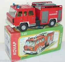TATRA 815 FIRE ENGINE TRUCK - 1:43 SCALE-KOVAP TIN TOY HAND MADE COLLECTORS