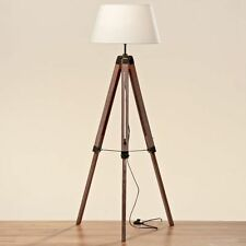 Stativlampe - H ca. 145 cm, Dreibein Lampe, Stativ-Stehlampe, Leselampe