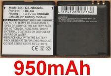Batterie 950mAh type BL-6Q Pour Mobiado Classic 712 Stealth LE