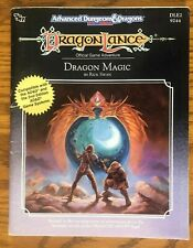 NM WITH MAP!  DRAGON MAGIC 1989 Dungeons & Dragons Module DLE2 DragonLance