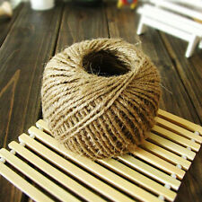 30 Meter Natural Hemp Rope Macrame Twisted rd for Crafts Gardening Sell