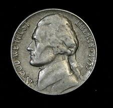 1955-P Jefferson Nickel Circulated Free Shipping!