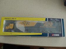Corgi 1:50 Ltd Edn 75605 Renault Curtainside Nigel Rice Transport Ltd Unused
