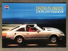 Transportation 1983 Datsun 280zx Original Australian Sales Brochure Collectibles