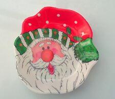 Christmas Dishes, Set of 2 Plastic Santa Bowls for Xmas by Homestreet®