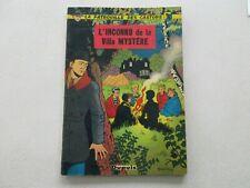 PATROUILLE DES CASTORS T3 usagé/BE L'INCONNU DE LA VILLA EDITION ORIGINALE 1958