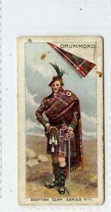 (Gr958-408) Bell, Scottish Clan Series, #8 Drummond 1903 G+