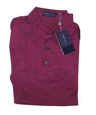 Ralph Lauren Purple Label Mens Pima Cotton Made In Italy Button Polo Sport Shirt