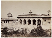 An Antique Albumen Print Photograph Of Agra India By Shepard & Robertson