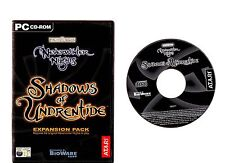 SHADOWS OF UNDRENTIDE. SUPERB RPG EXPANSION FOR NEVERWINTER NIGHTS ON THE PC!!